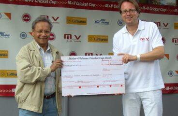 Benefiz Cricket Turnier mit Tombola